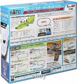 KATO N Scale Starter Set N700A Shinkansen Nozomi 10-019 Model Train
