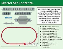 Kato 1060017 N Amtrak P42 Superliner Starter Set With Unitrack Power Pk 106-0017
