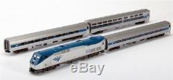 Kato N Scale 106-6285 Amtrak/Amfleet Phase VI P42 Loco & 3 Passenger Car Set New