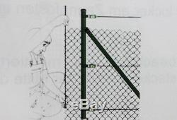 Komplett Set PROFI 60x2,8x1750 Maschendrahtzaun GRÜN Starterset Zaunset Set