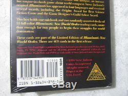 LARGE BOX Limited Starter Set Illuminati INWO Card Game ULTRA-RARE SEALED