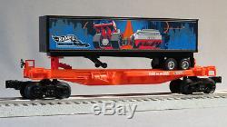 LIONEL HOT WHEELS LIONCHIEF BLUETOOTH TRAIN SET O GAUGE engine cars 6-84700 NEW