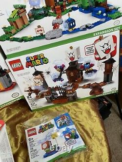 Lego SUPER MARIO Starter Set + Complete Collection Lego Store Exclusive 17 Sets