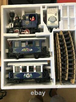 Lgb #72545 The Christmas Train Blue Starter Set (new-not Run Or Displayed)