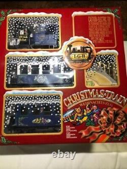 Lgb #72545 The Christmas Train Brand New, Never Out Of The Box