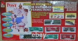 Life Like HO Norman Rockwell Christmas Train Set 433-8683 NIB LifeLike H-O NEW
