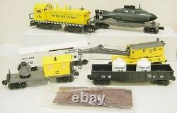 Lionel 6-11745 US Navy Diesel O Gauge Diesel Freight Train Set MT/Box