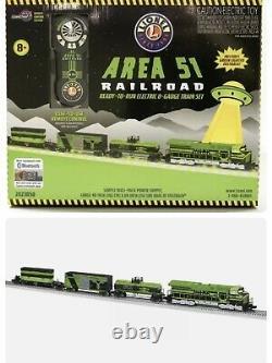 Lionel Area 51 Alien Lionchief Set O Gauge 2023050 Diesel Engine Remote No Track
