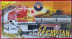 Lionel O Santa Fe El Capitan Diesel Passenger Set 6-30001