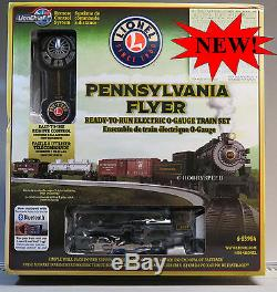 Lionel Pennsylvania Flyer Lionchief Train Set Bluetooth O Gauge Rtr 6-83984 New