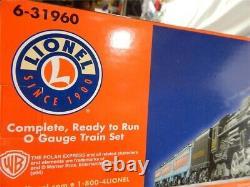 Lionel The Polar Express O Gauge Train Set Con 2-8-4 Berkshire #1225 NIB 631960