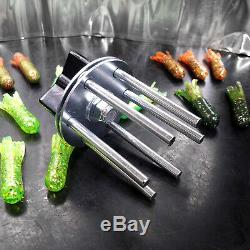 Liquid Plastic MEGA STARTER SET Crappie Tube plastisol fishing lure making kit