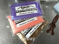 Liquid Plastic SUPER STARTER SET Beaver Mold plastisol fishing lure making kit