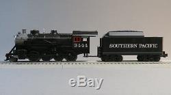 MTH RAIL KING SP STEAM ENGINE & TENDER PROTO 3 O GAUGE train pac 30-4245-1-E NEW