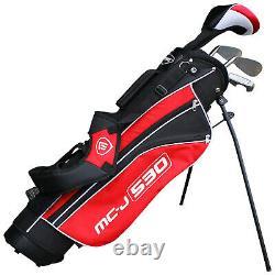 Masters Junior MC-J 530 Half Package Golf Starter Set Ages 5-8 9-12 Stand Bag