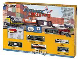 N SCALE Complete Railroad Train Set Bachmann Freight Master Model Railroad
