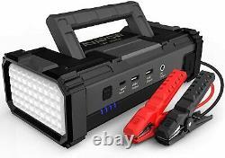 NEW 6000A Peak Car Jump Starter Booster Jumper Power Bank Battery Charger