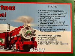NEW Lionel Peanuts Merry Christmas Charlie Brown! Complete O-Gauge Train Set