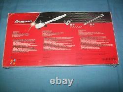 NEW Snap-on 3/8 drive 6-point Metric Socket F80 Ratchet Breaker Bar STARTERSET5