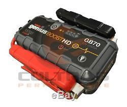 NOCO Genius Boost HD GB70 2000 Amp 12V UltraSafe Lithium Jump Starter 19366934