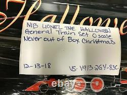 Nib Lionel The Halloween General Train Set O Scale New Collectible Kit Set Steam
