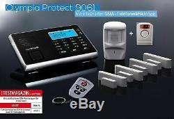 Olympia Alarmanlage GSM Protect 9061S Starter Set mit Außensirene