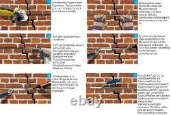 Original Ruberstein Spiralanker 8mm Starterset für Mauerwerksrisse sanieren