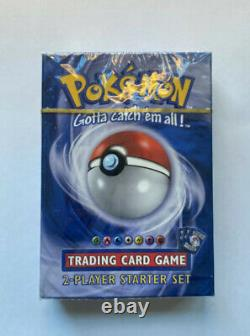 POKEMON Trading Card Game 2-Player Starter Set Deck Gold Strip SHADOWLESS NEW