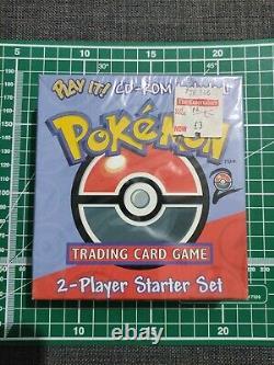 Pokemon 2 Player Starter Set Base Set 2 with CD. Rare Factory Sealed deck