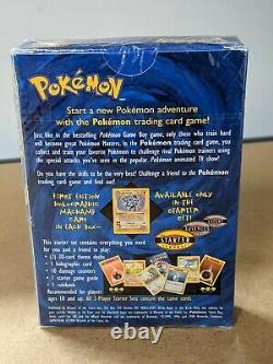 Pokemon 2-Player Starter Set Deck 1st Edition Machamp Holo / Sealed 1999 WoTC