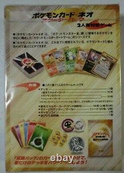 Pokemon 2000 Neo Genesis Starter Deck Set Japanese New Sealed U. S
