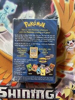 Pokemon Base Set 2 Player Starter Deck Factory Sealed WOTC SHADOWLESS Box