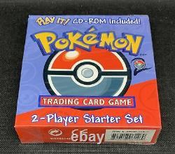 Pokemon Base Set 2 Two Player Starter Set Deck with CD-Rom QTY AVAIL