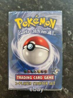 Pokemon Cards Base Set Theme Deck2 Player Starter Set Factory Sealed