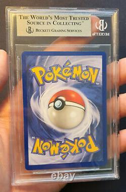 Pokemon Glurak Charizard BGS9.5Q+ GemMint Base Set 1. Edition Starter Set