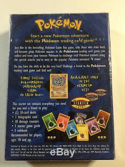 Pokemon Guaranteed Shadowless Base Set Starter Deck Sealed