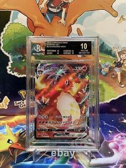 Pokemon Japanese Charizard VMAX 002/021 2/21 Pristine BGS 10 Black Label