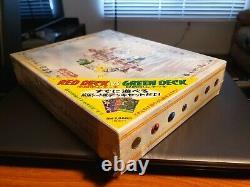Pokemon Red Green Gift Quick Starter Set SEALED 1998! New! Very Rare Decks