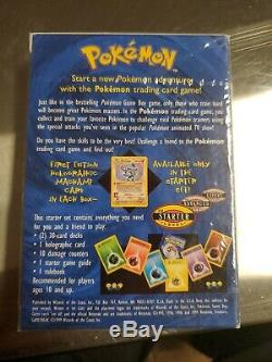 Pokemon Starter Deck. Shadowless Edition. ALL ENERGIES ON THE BACK. Base set
