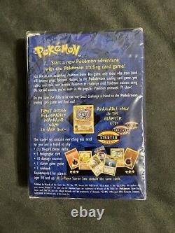 Pokemon TCG Base Set 2-Player Starter Set Factory Sealed 1999 WOTC Plus Bonus