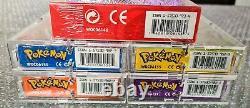 Pokemon Theme Decks 4x Base Set 2 + Starter Set CD Rom Factory Sealed 1999 WOTC