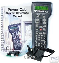 Power Cab UK NCE Entry level DCC Starter Set, with 240VAC power supply/UK power