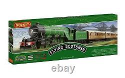 R1255M Hornby OO Gauge A1 LNER Flying Scotsman 4-6-2 Starter Train Set New Boxed