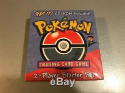 RARE! Pokemon Base set 2 Starter Set two' PLAY IT' CD-ROM WOTC English