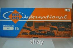 ROCO 4001 HOe Narrow Gauge Railway Set withDiesel & 10 Cars & Track NEW withBox