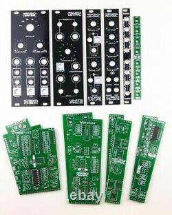 STARTER Frequency Central Modular Synthesiser PCB set/panel bundle Doepfer DIY