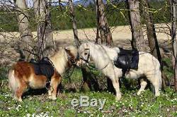STARTERSET Sattel SET Ponysattel Reitsattel + Trense Mini Shetty Minishetty