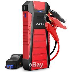 SUAOKI U27 Car Jump Starter 2500A Peak 12V Battery Booster Jumper Power Bank US