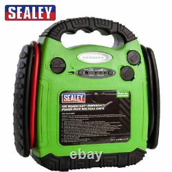 Sealey Rs1312hv 12v 900a Car Van Jump Starter Battery Booster Charger Lead Cable