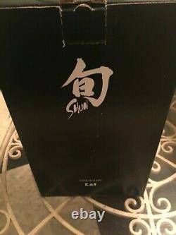 Shun Classic 5 Piece Starter Slim Block Knife Set DMS0530 VG-MAX Damascus Japan